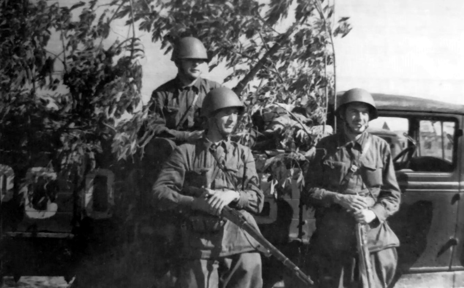Экспонат #14. В действующей армии. 1943-1944 гг.