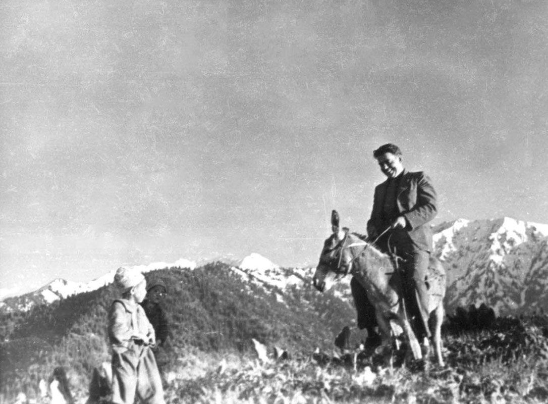 Экспонат #87. Марк Антонович Трояновский. Казахстан. 1939 год