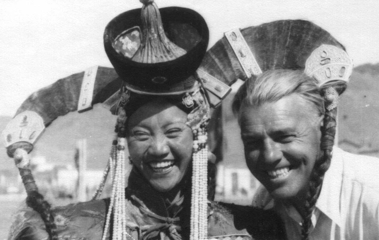 Экспонат #122. В Монгольской Народной Республике. 1951 год