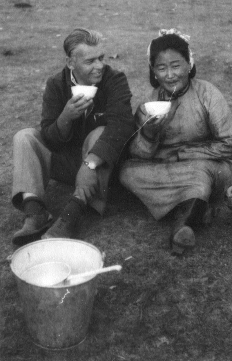 Экспонат #123. В Монголии. 1951 год
