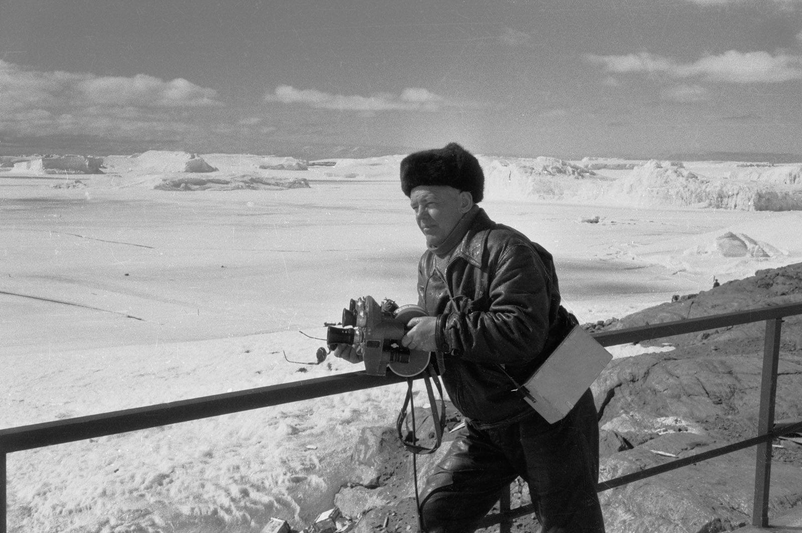 Экспонат #158. Антарктида. Январь 1962 года