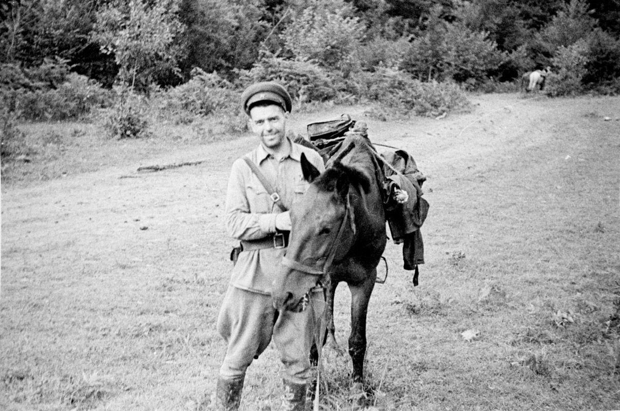 Экспонат #111. Марк Антонович Трояновский. Действующая армия. 1943 год