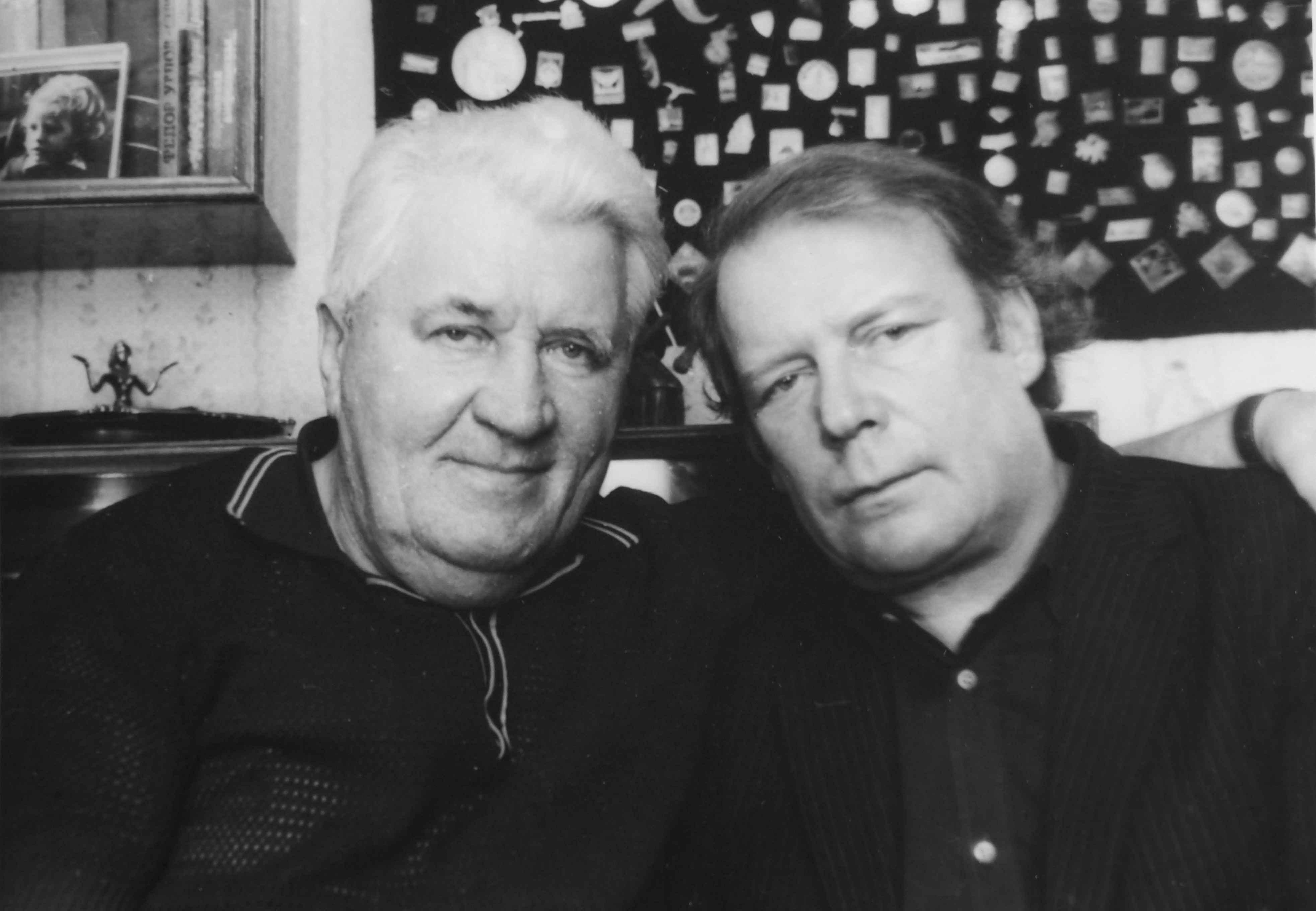 Экспонат #24. Евгеений Марфель с коллегой и другом Сергеем Киселёвым. 80-е годы