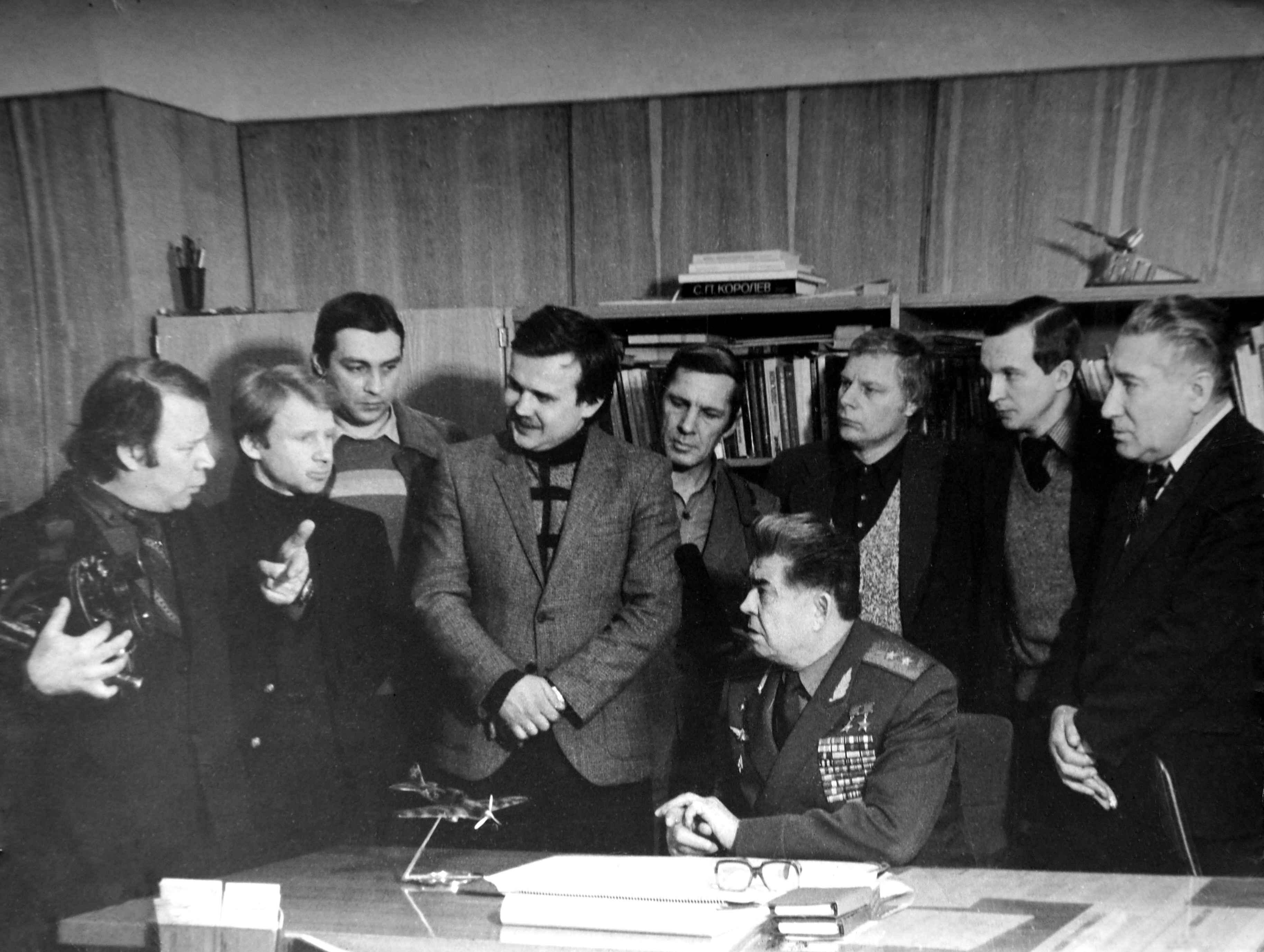 Экспонат #32. С летчиком-космонавтом СССР Георгием Береговым