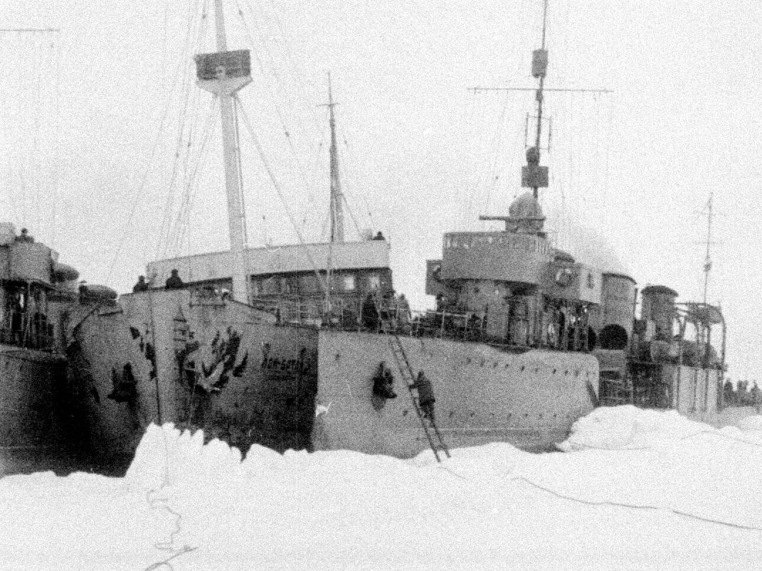 Экспонат #61. Секретная экспедиция: ЭОН-3. Арктика. 1936 год