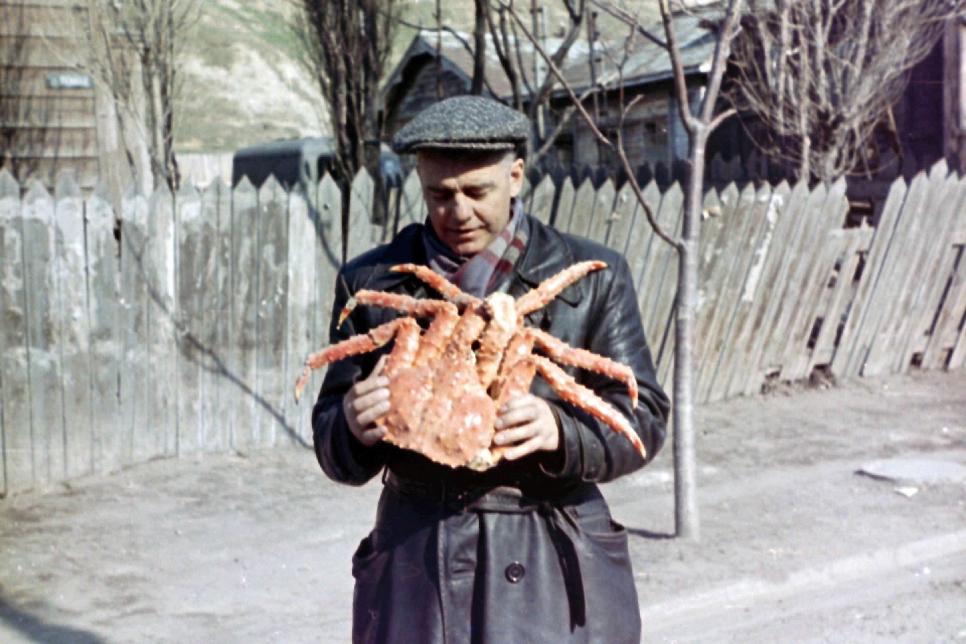 Экспонат #121. Марк Антонович Трояновский. Сахалин. 1950 год