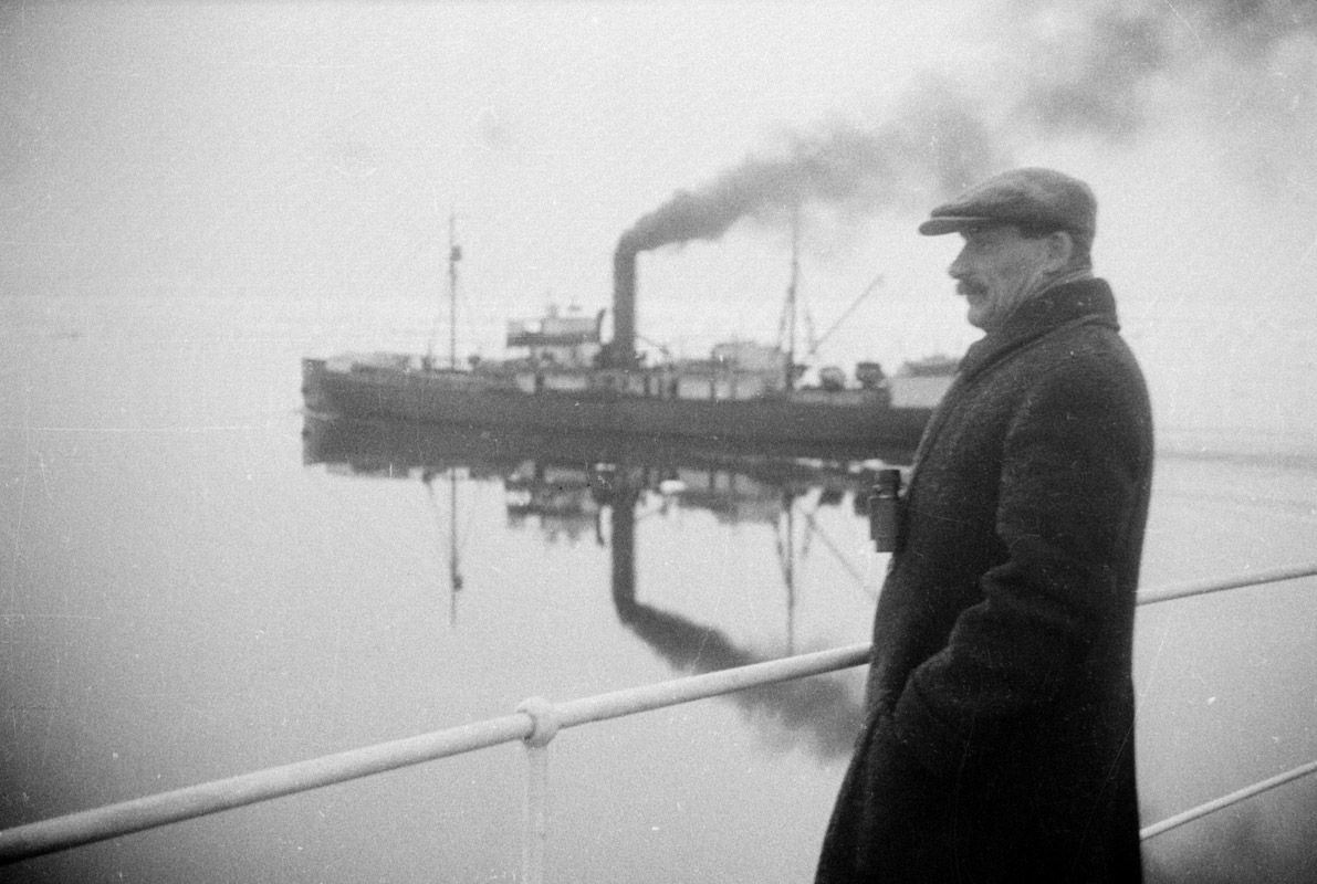 Экспонат #40. «Челюскин». 1933 год