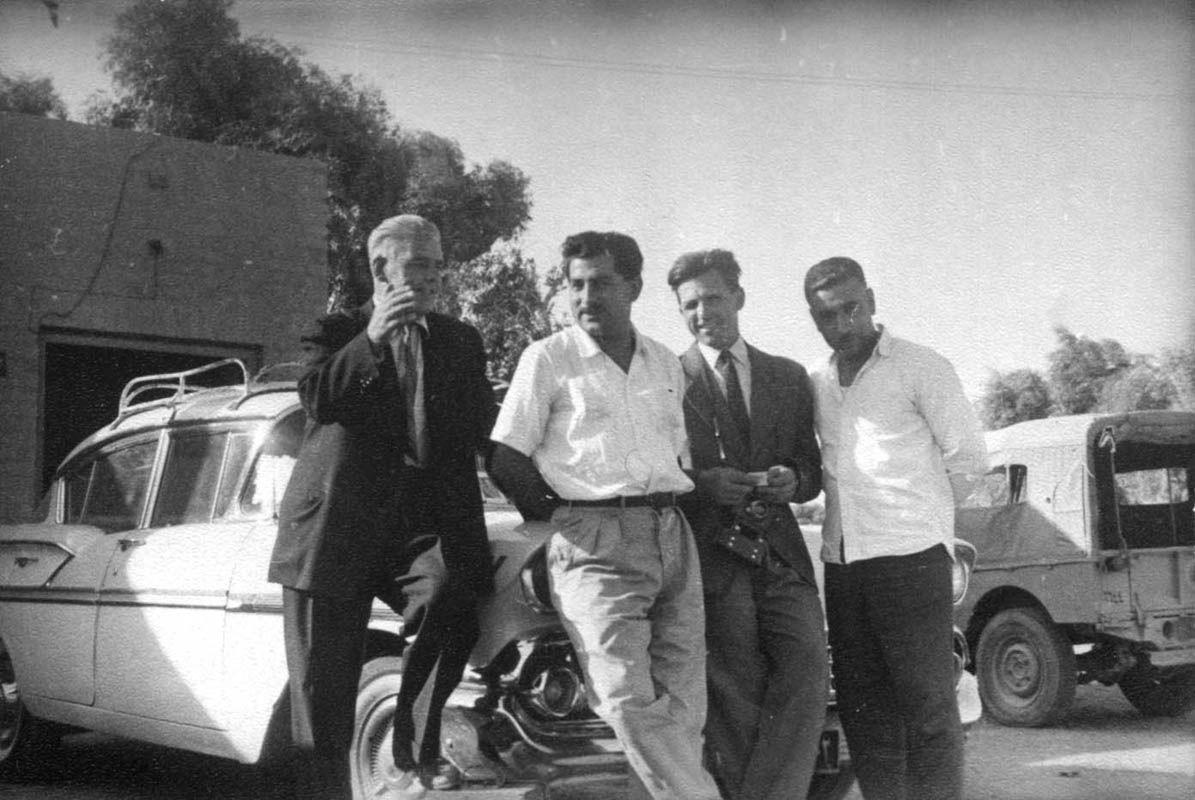 Экспонат #133. С оператором Земцовым. Ирак. 1959 год