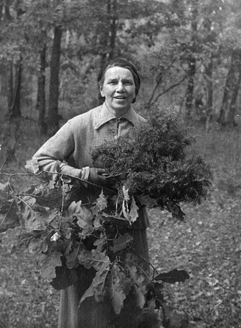 Экспонат #150. Инна Леонидовна Трояновская. 50-е годы