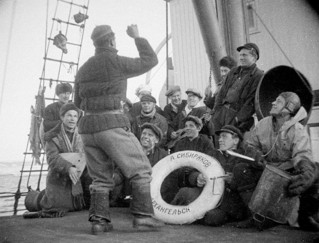Экспонат #29. На «Сибирякове». 1932 год