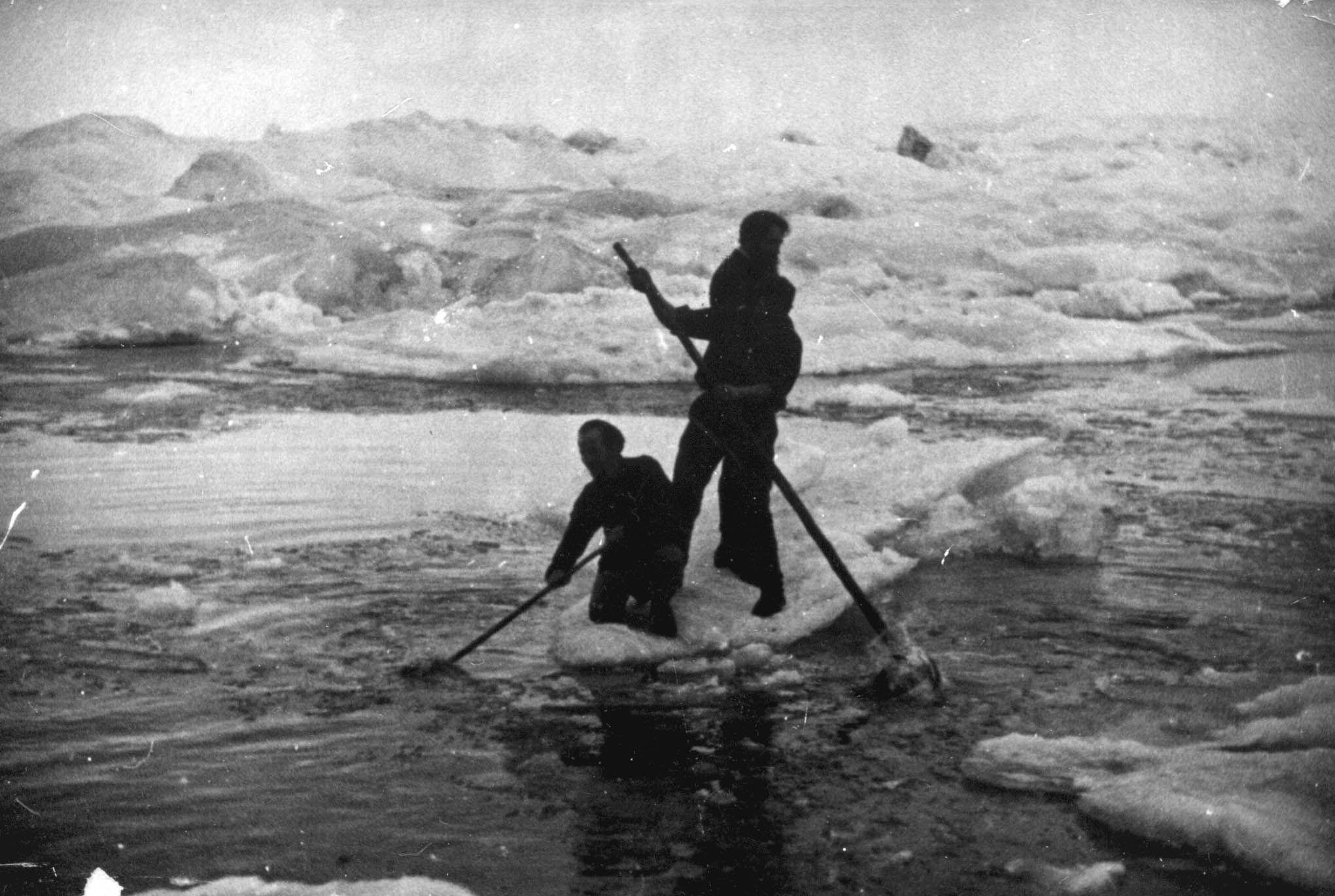 Экспонат #30. На «Сибирякове». 1932 год