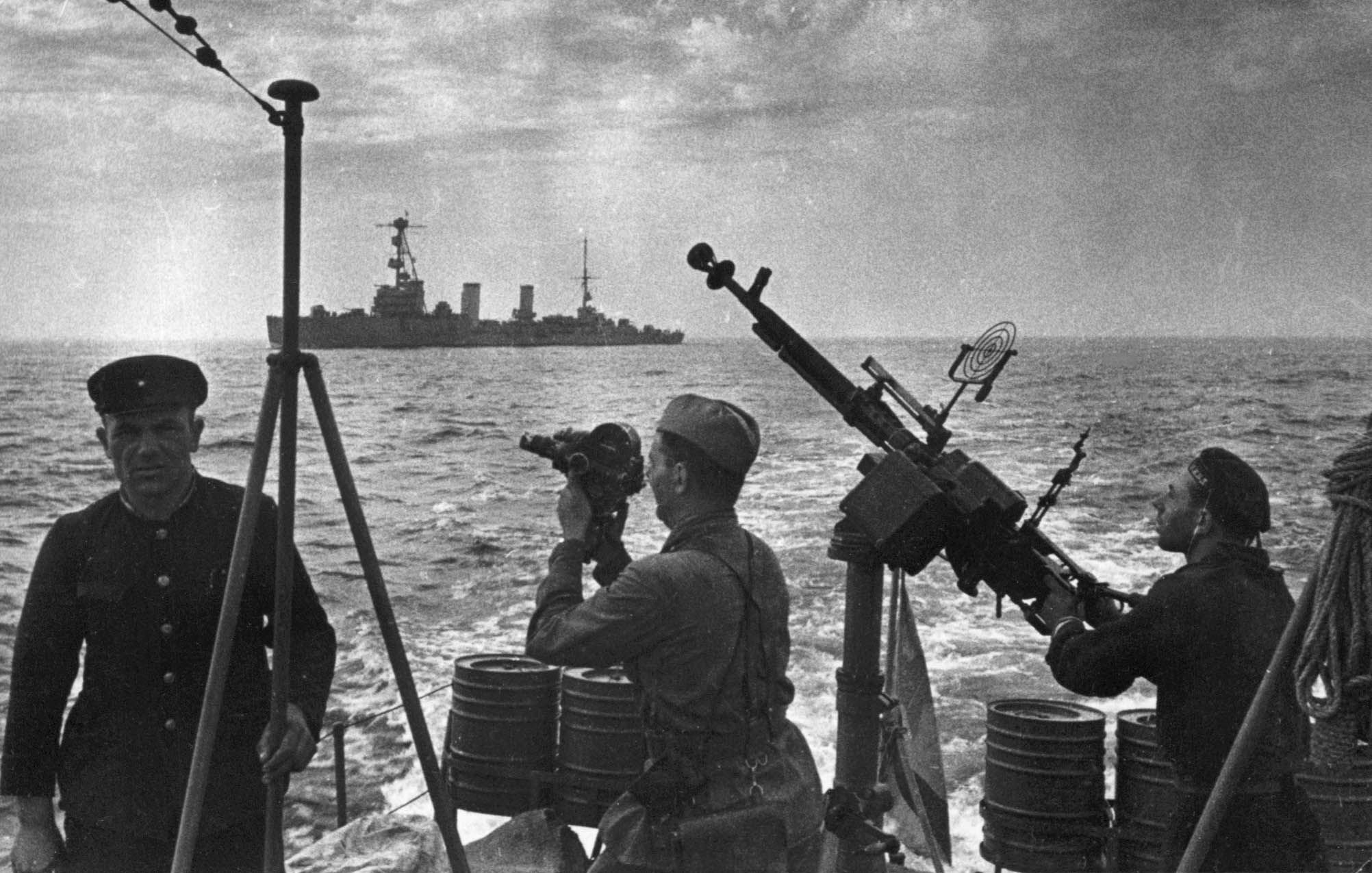 Экспонат #92. Уходим из Одессы. 16 октября 1941 года