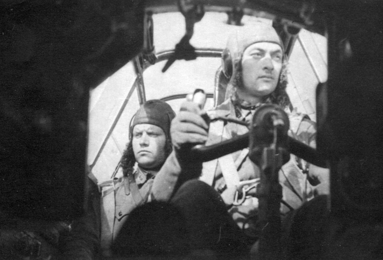 Экспонат #77. На бомбардировщике. 1941 год