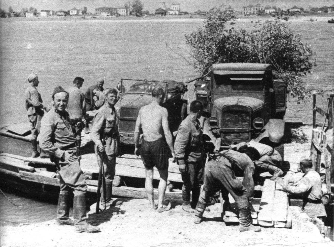 Экспонат #99. На переправе через Дон. Июнь 1942 год